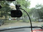 Dashcam Kenwood DRV-410 Full-HD installierte Kamera