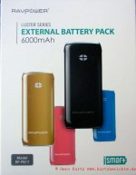 Ravpower external battery Pack 001