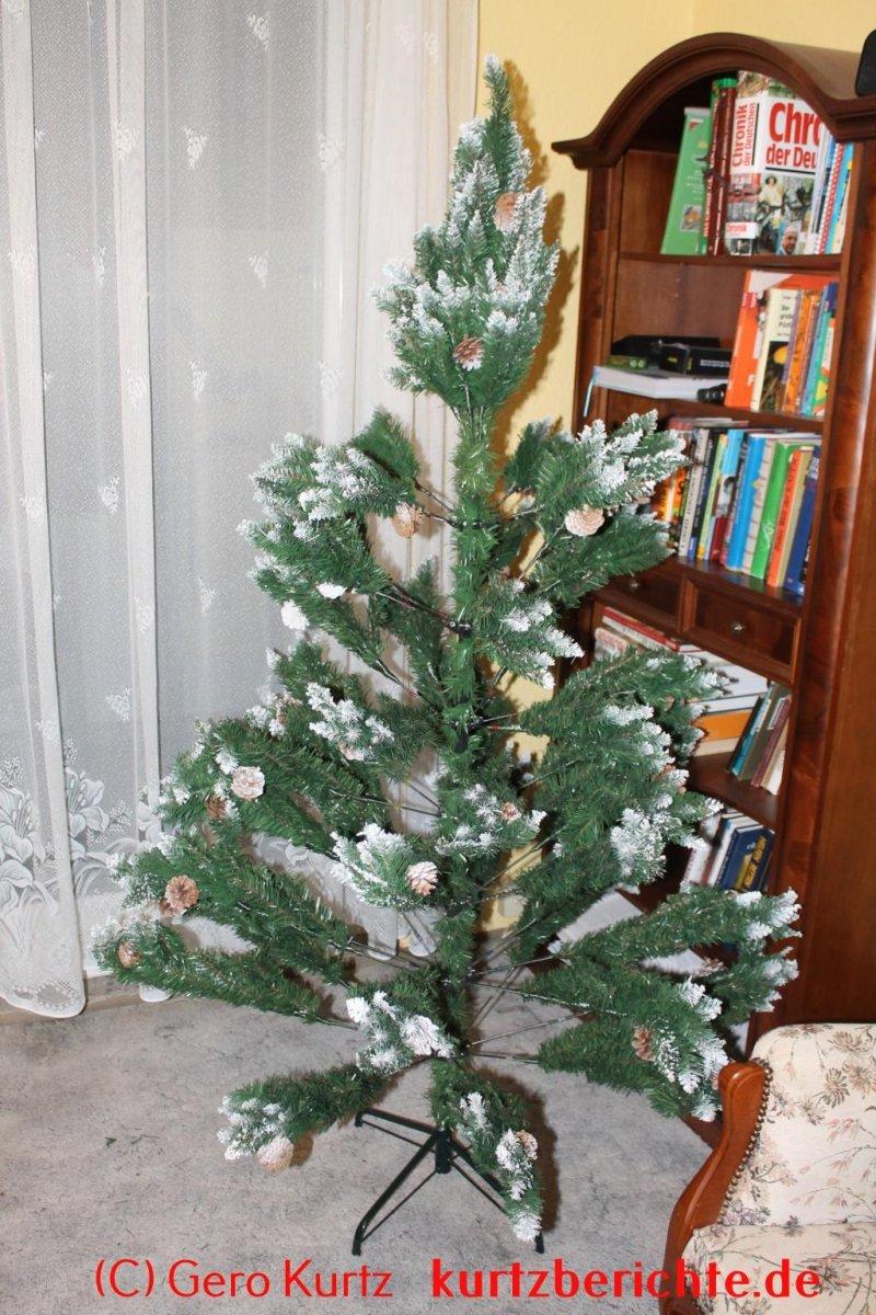 erfahrungsbericht yorbay weihnachtsbaum tannenbaum mit. Black Bedroom Furniture Sets. Home Design Ideas