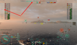 World of Warships pinke Namen und Symbole