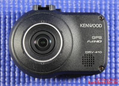 Vorderansicht der Dashcam Kenwood DRV-410 Full-HD