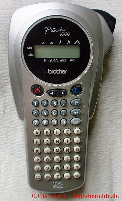 Etikettendrucker P-touch 1000 von Brother