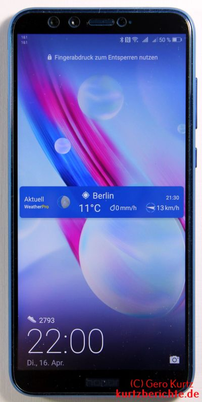 Honor 9 Lite Smartphone 3+32 GB Dual-SIM