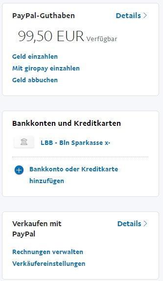 Paypal Guthaben Auf Konto Гјberweisen