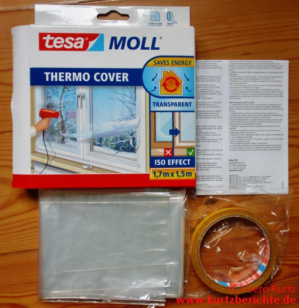 Berühmt Persönlicher Erfahrungsbericht zur tesa Moll Thermo Cover Folie FO61