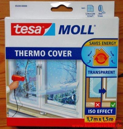 Häufig Persönlicher Erfahrungsbericht zur tesa Moll Thermo Cover Folie CY21