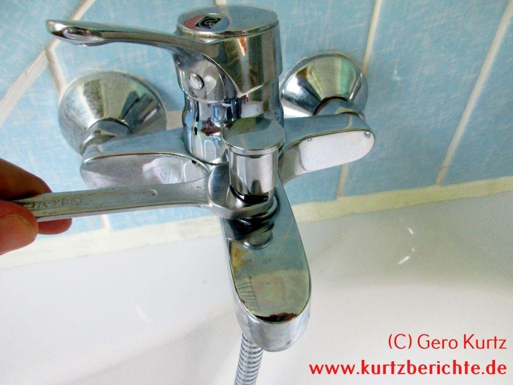 Popular Brause Umschalter an der Badewanne wieder gängig machen VE51