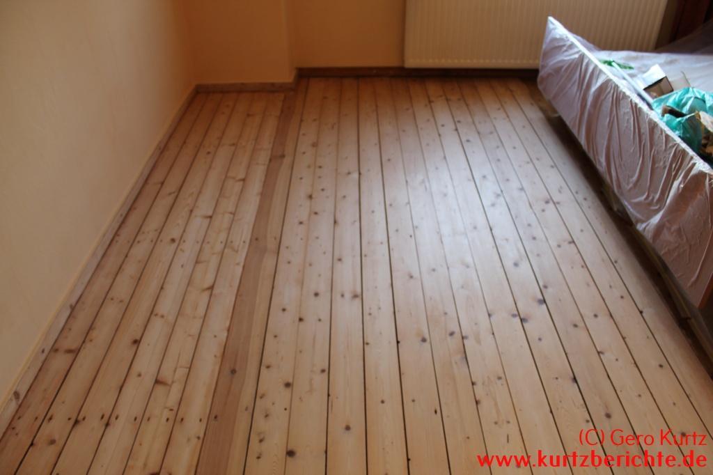 Holzfußboden Farbig Streichen ~ Ratgeber wie schleife ich selbst meinen alten dielenfußboden ab