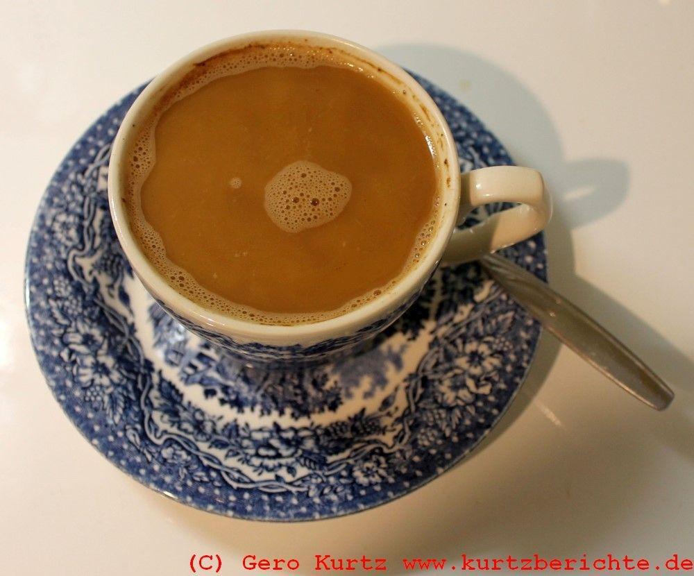 kaffee direkt  der tasse oder kanne aufbruehen