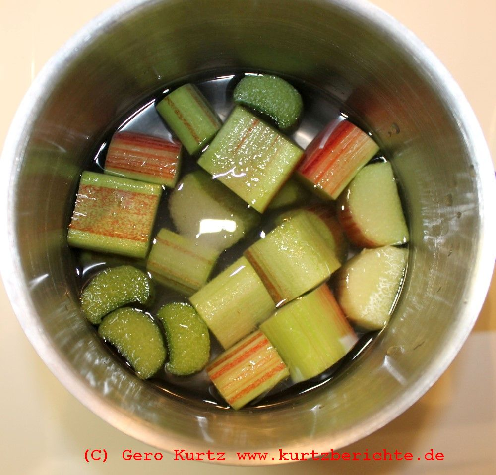 Rezept anleitung rhabarber kochen rhabarberkompott for Kochen rhabarber